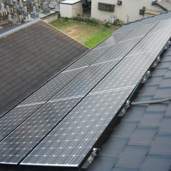 太陽光発電屋根はお家の発電所