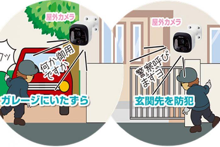 スマホで見れる、最新ホーム防犯システム