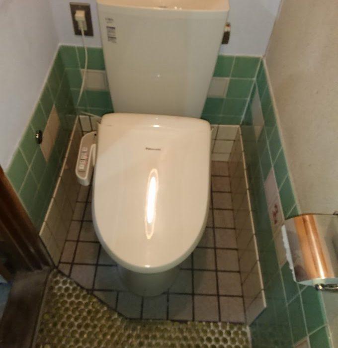 富士宮市 MA 様邸 和式トイレから洋式トイレリフォーム