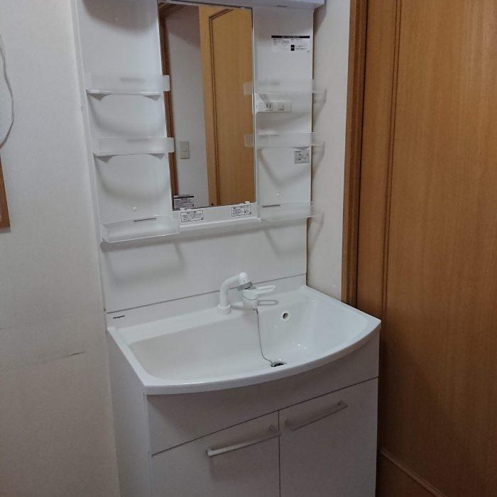 洗面ユニット交換