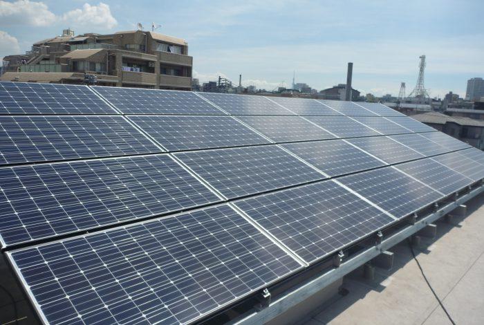太陽光発電、蓄電池