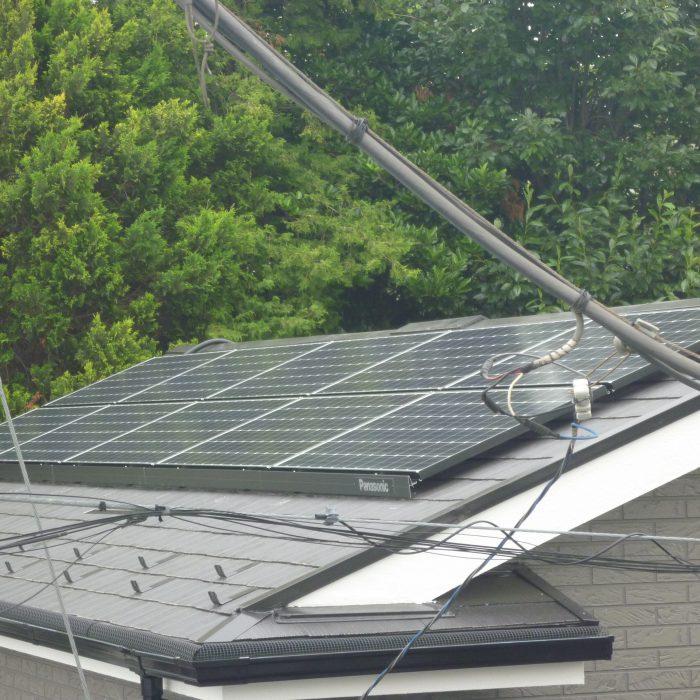O様邸 太陽光発電設置事例
