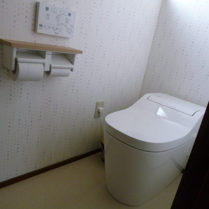 トイレ&壁紙リフォーム