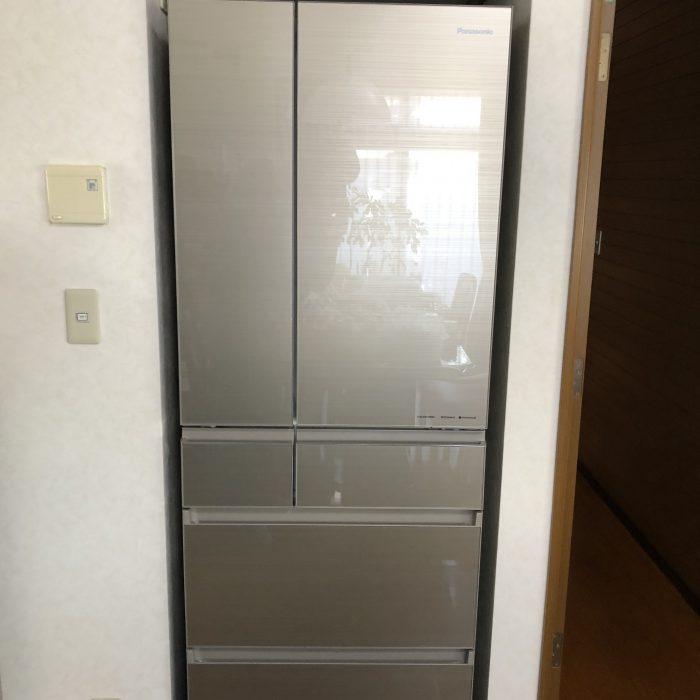 ガラストップ冷蔵庫!!