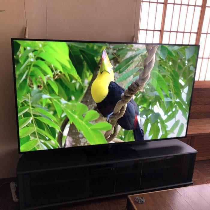 『75インチ』大型テレビにお買い換え!!『TH-75HX900』