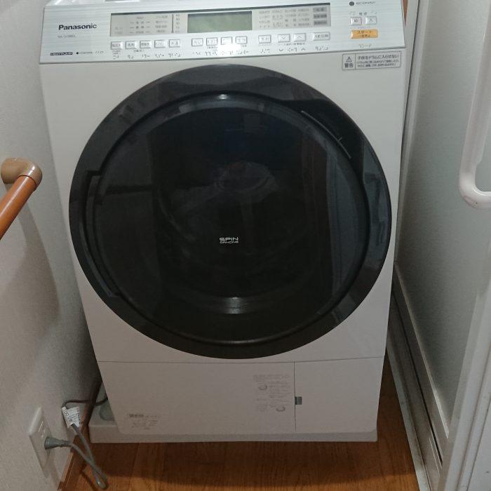 洗濯機新設