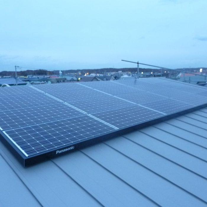 木村様邸の太陽光発電システム